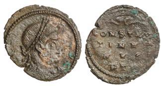 les monnaies anépigraphes pour les vicennales de Constantin Ier à Trèves 204-285-45